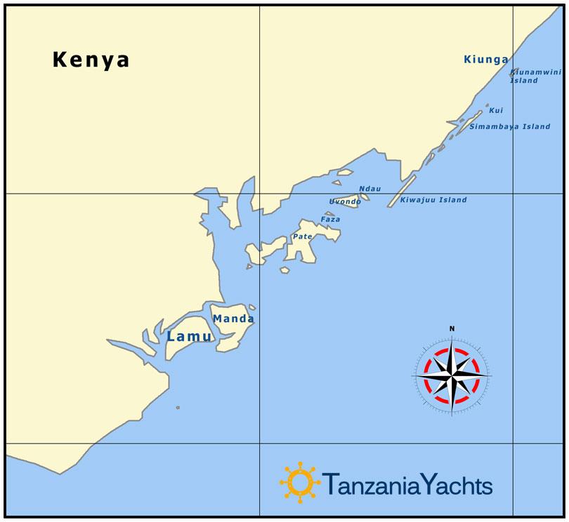 Map Of Africa Zanzibar.Maps Tanzania Islands Zanzibar Pemba Indian Ocean East Africa