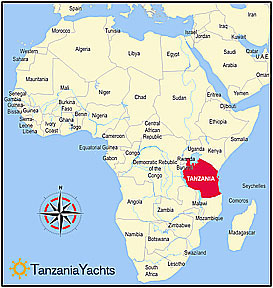 kilwa island africa map